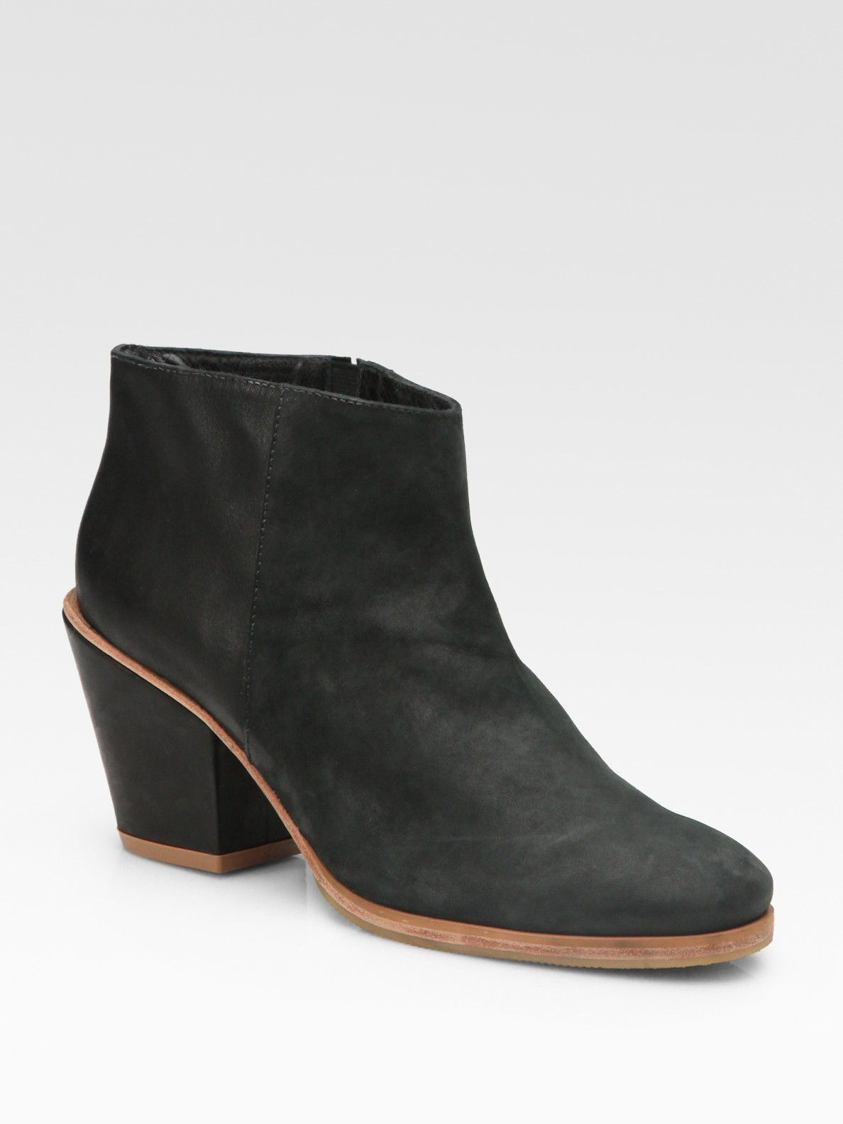 RACHEL COMEY Leather Ankle Boots ukmwT3Wtg
