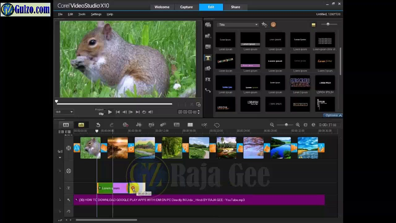 How to Make a Video with Pictures and Music (Photo
