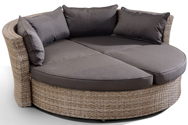 Madison 2 In 1 Outdoor Round Day Bed Sofa Outdoor Furniture