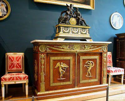 Arts Decoratifs Premier Empire Jacob Desmalter Commode A 2 Vantaux 1805 Louvre Art Decoratif Style Art Deco Meuble De Style