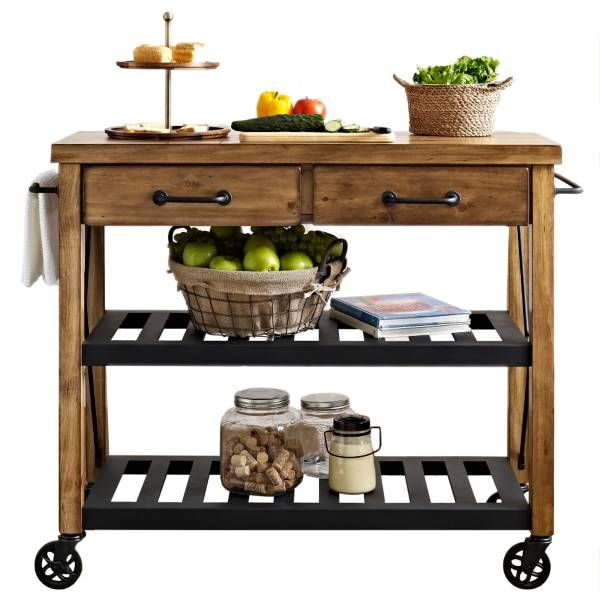 Product Image for Crosley Roots Rolling Rack Industrial Kitchen Cart ...