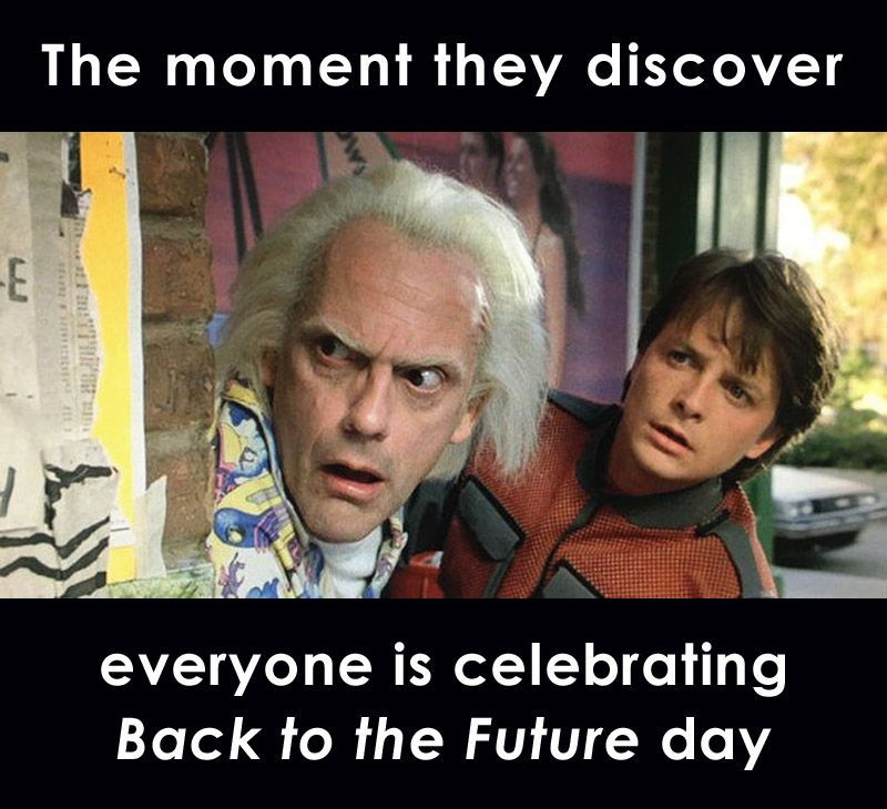 Welcome Back To The Future Kiersten Fay Back To The Future The Future Is Now Future Days