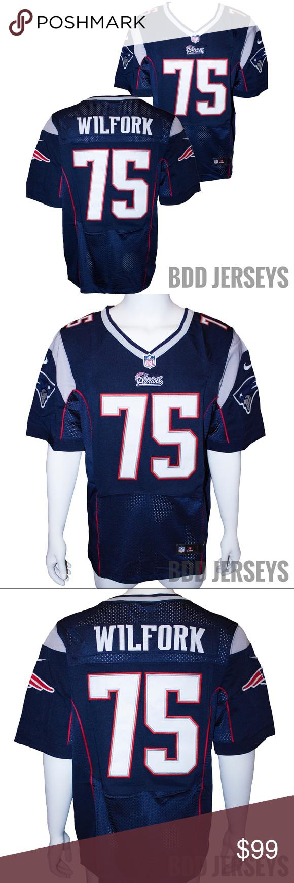 New England Patriots Vince Wilfork Jersey | New england patriots ...