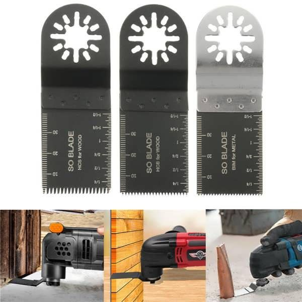 4pcs Oscillating Saw Blades Multitool For Fein Multimaster Bosch Makita Worldwide Delivery Original Best Quality Product Multitool Locker Storage Saw Blades