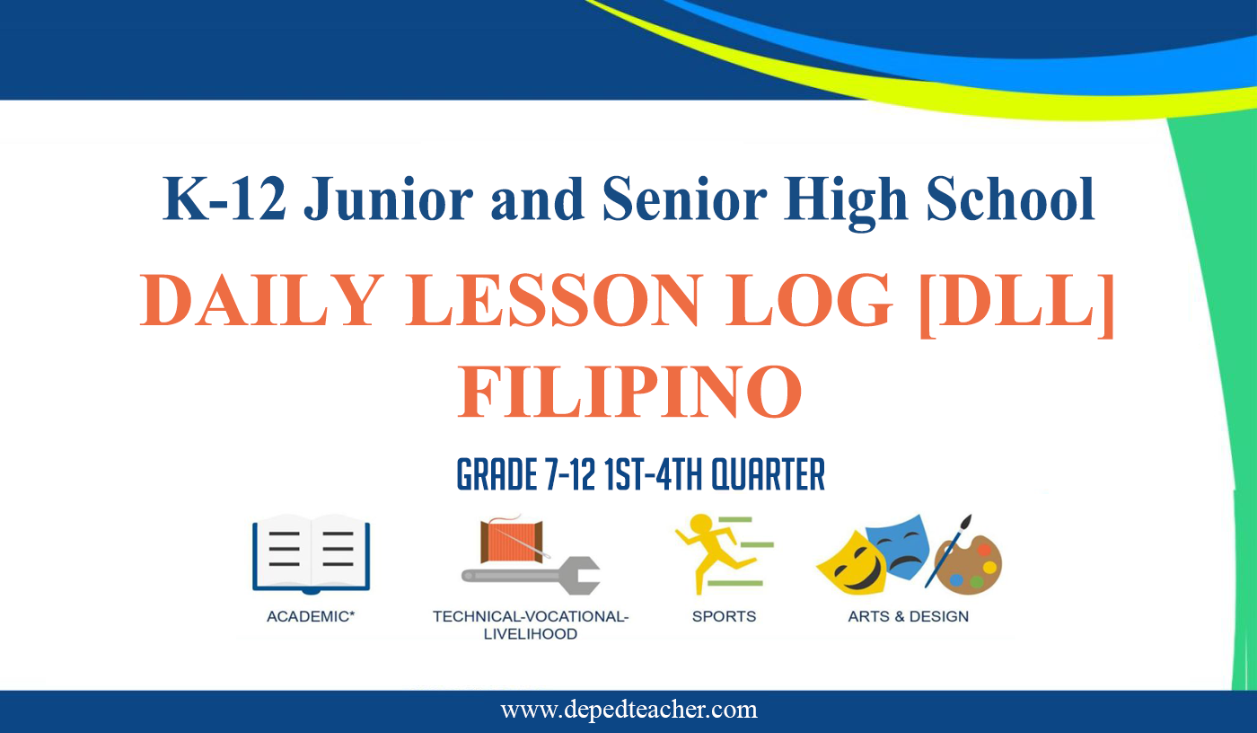 Filipino Daily Lesson Log Dll For Grade 7 12 1st 4th Quarter Deped Teachers Club In 2020 Lesson Plan In Filipino Daily Lesson Plan Entrepreneurship Lesson Plans