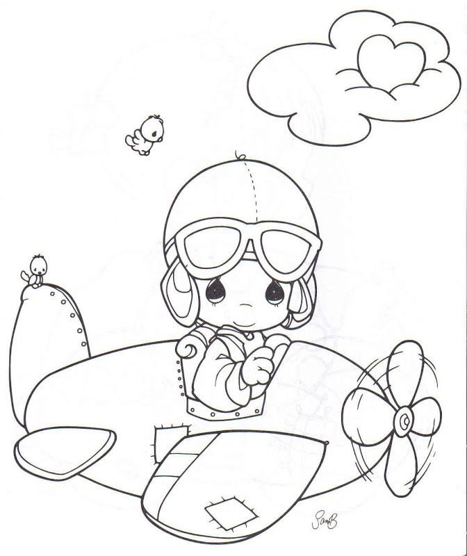 Coloring Pages: precious moments | Printables | Pinterest | Avión ...