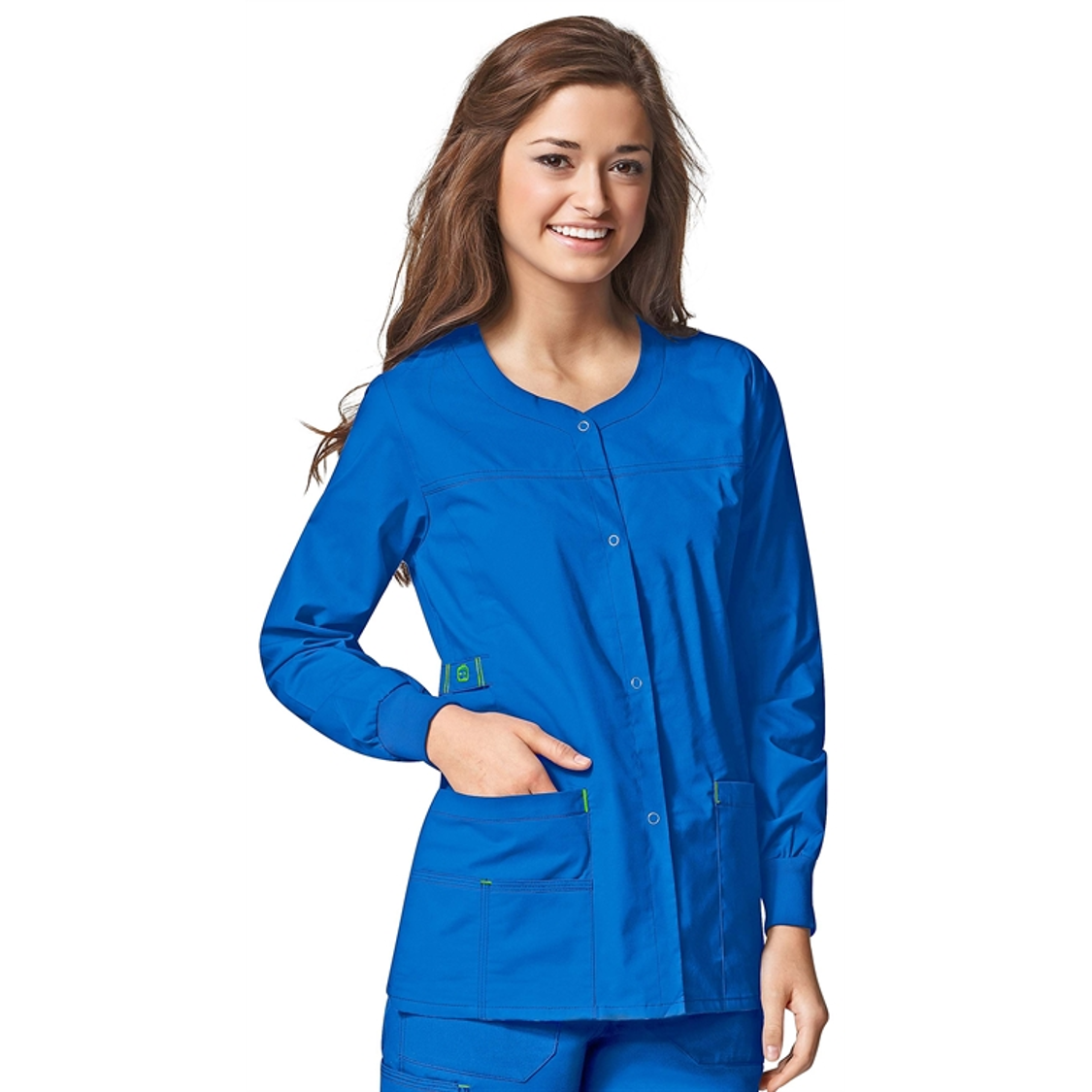 WonderWink WonderFlex Scrub Jacket in Royal at the ...