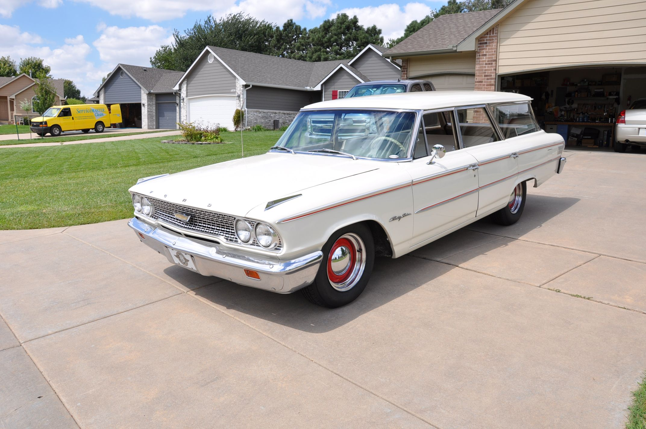 Motor N News For Sale 1963 Ford Country Sedan Station Wagon At