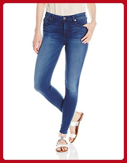 7 For All Mankind Women's Midrise Ankle Skinny Slim Illusion Luxe Jean, Medium Heritage, 32 - All about women (*Amazon Partner-Link)