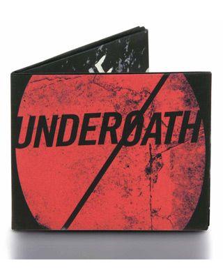 Underoath Mighty Wallet $15