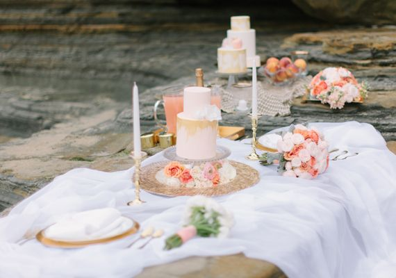 Beach wedding inspiration 151 Festa in spiaggia al profumo di pesca