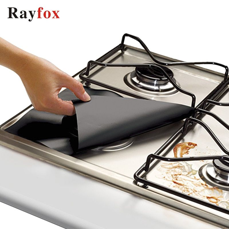 Rayfox Gas Stove Protectors 1pc Reusable Gas Stove Burner Cover Liner Mat Fire Injuries Protection Kitchen Accessories Gadgets F In 2020 Gas Stove Burner Gas Stove Stove Burner Covers