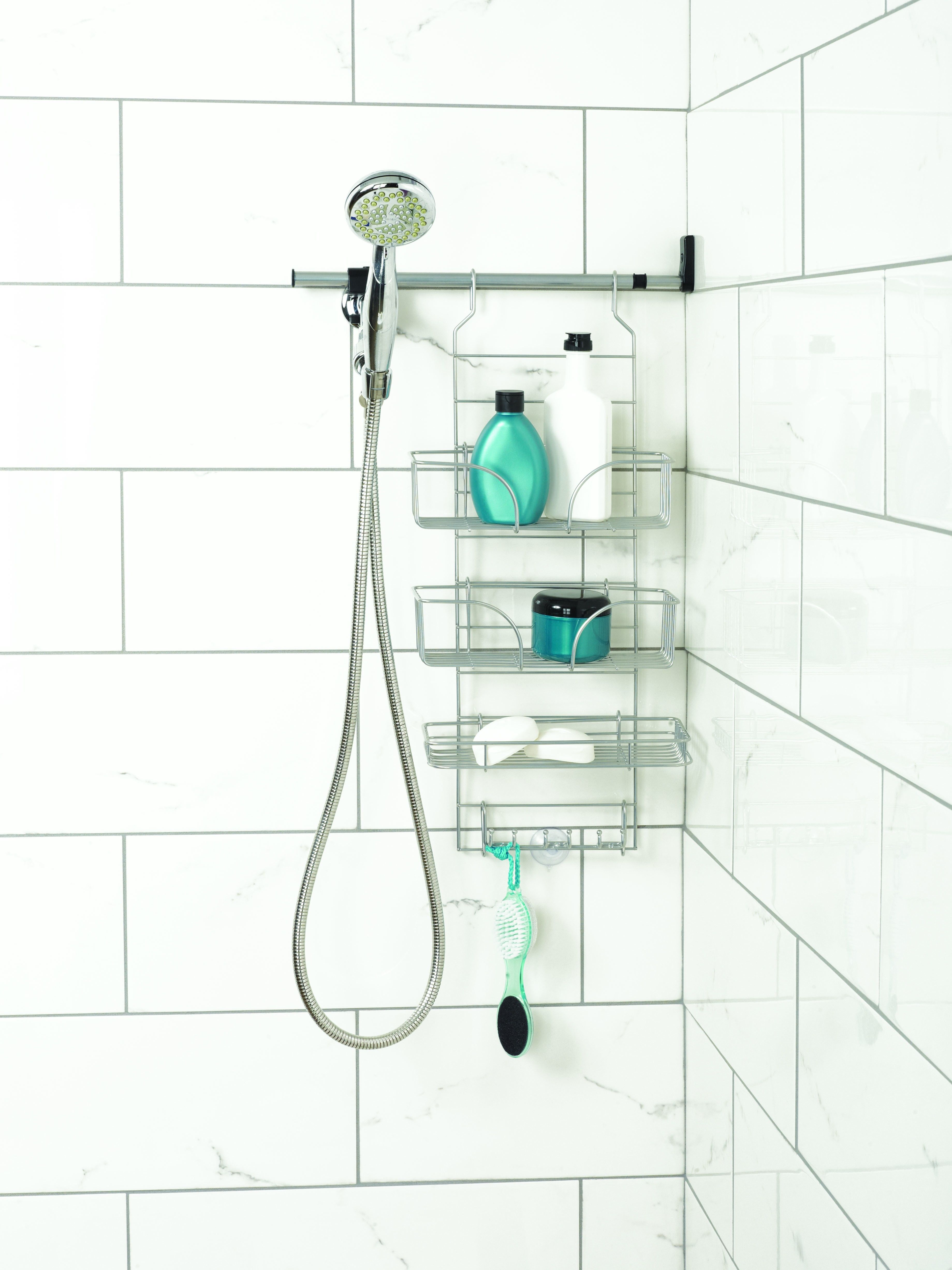Make-A-Space Premier Side Mount Shower Caddy - Shower Caddies ...