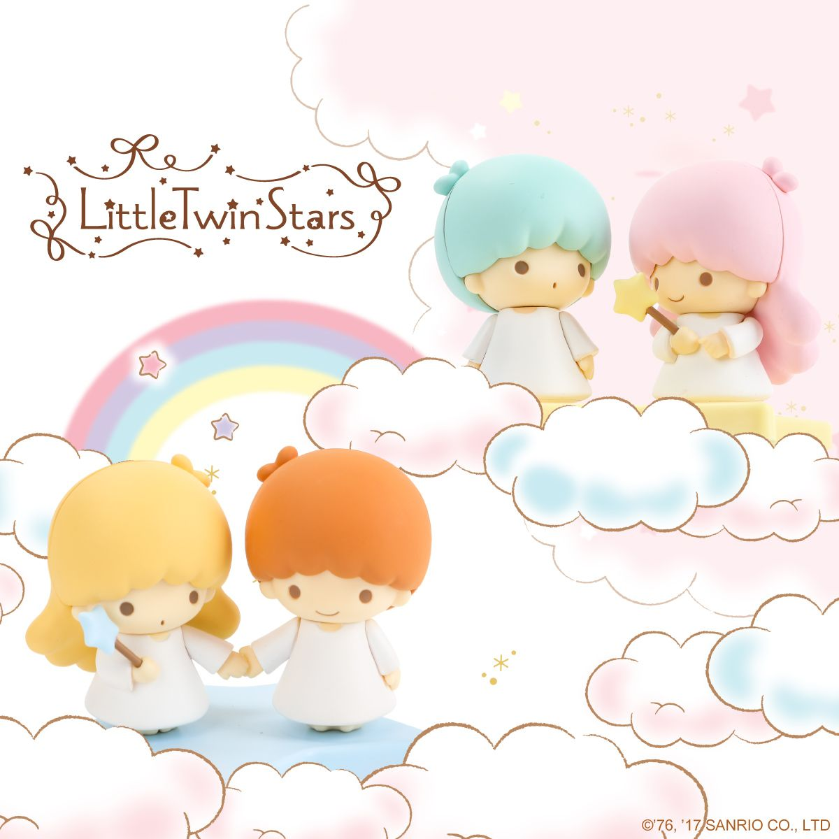 9667f1394 Little Twin Stars. Your Wish Came True! New collectible figurines of Kiki  and Lala are now here!