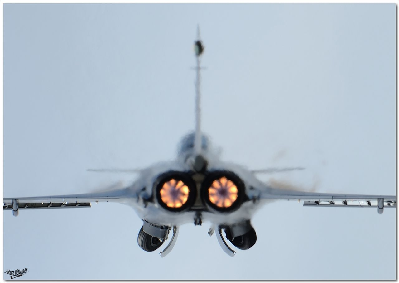 Rafale with Snecma M88-4E engine