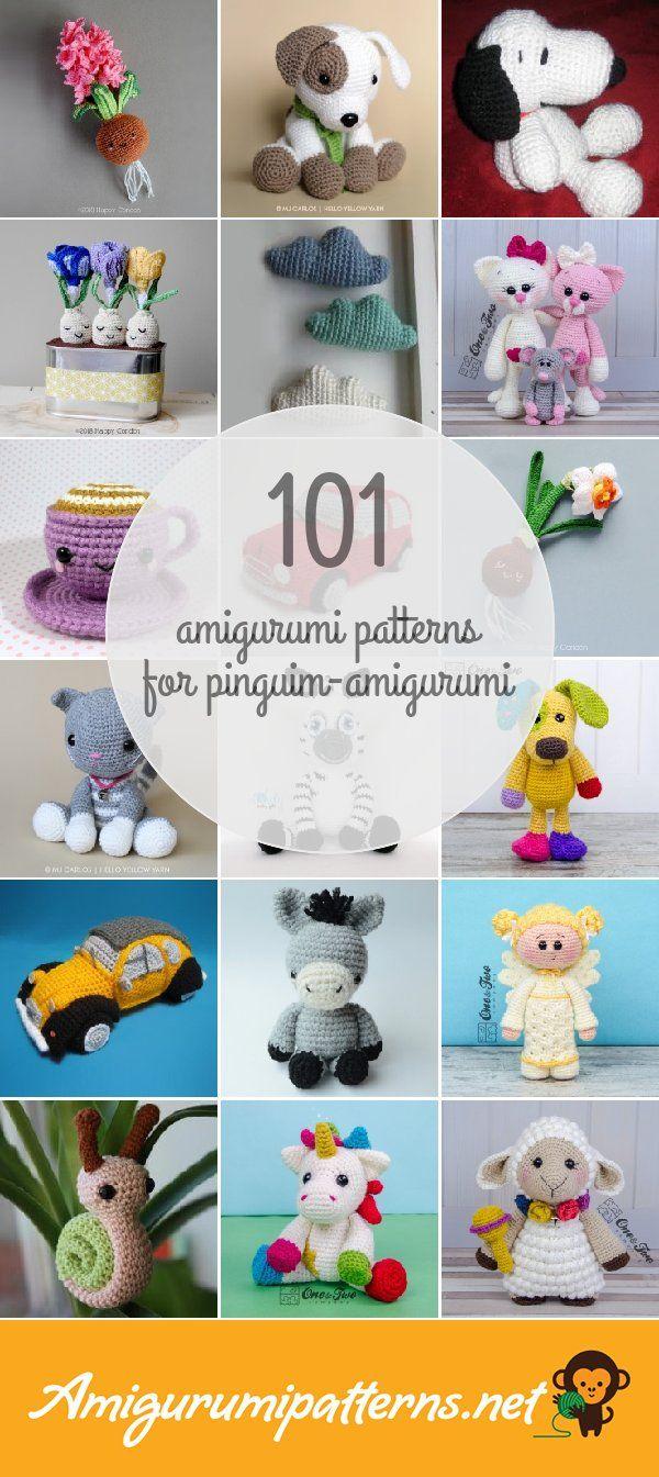 Amigurumi Patterns For Pinguim-amigurumi | amigurimi | Pinterest ...