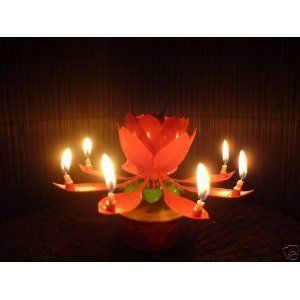 Spinning Musical Birthday Gift Candle Flower Party Sparkler Cake Topper Rotating By Neewer Amazon Dp B009A4Q060 Ref