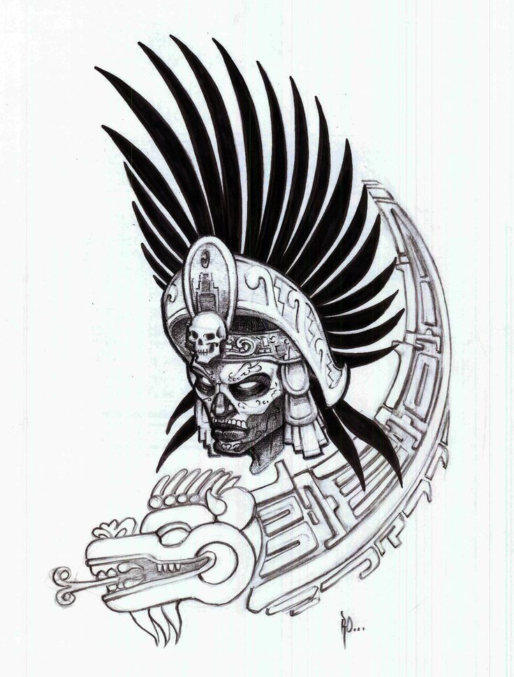 Aztec Warrior Face Tattoo | Fresh 2016 Tattoos Ideas | Art ...