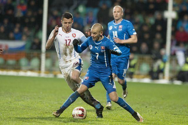 Slovenský triumf nad rivalom z Česka - najlepšie fotky