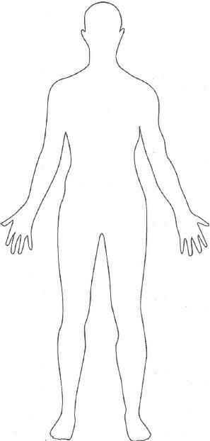 Cuerpo Que Sigue De Base Para Modelar Contorno Del Cuerpo Humano Silueta Del Cuerpo Humano Cuerpo Humano