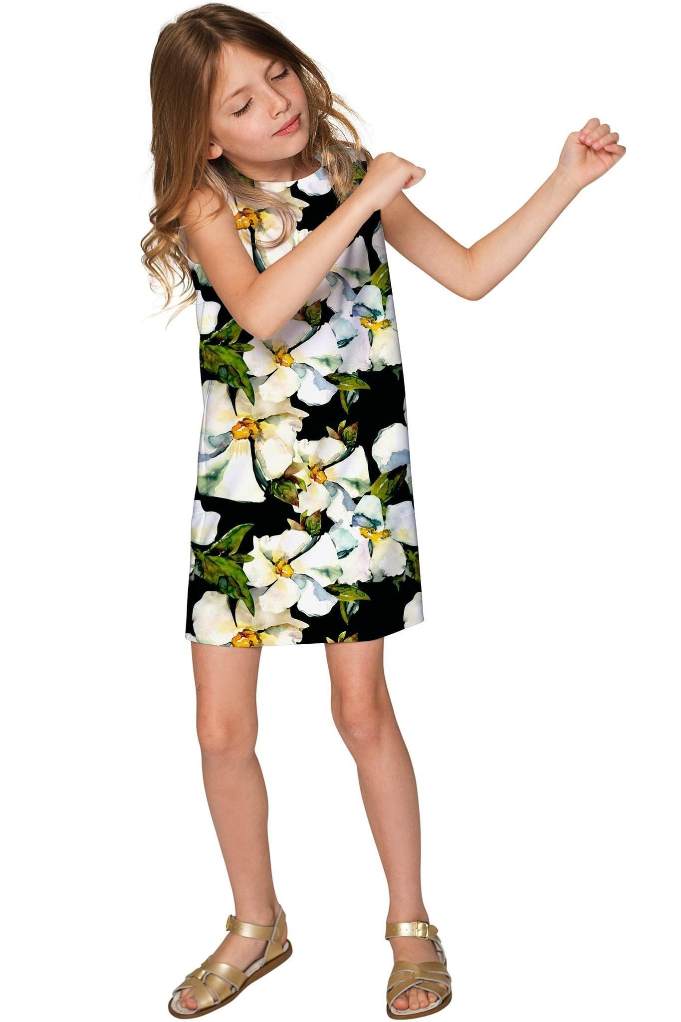 18f671fcbd7a Date Night Adele Elegant Floral Party Shift Dress - Girls | Products ...