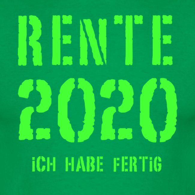 Rente 2020 Manner T Shirt In 2020 Lustige Spruche Rente