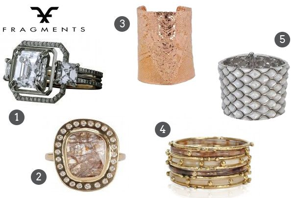 How to Wear Statement Bridal Jewelry from Fragments Jewelry