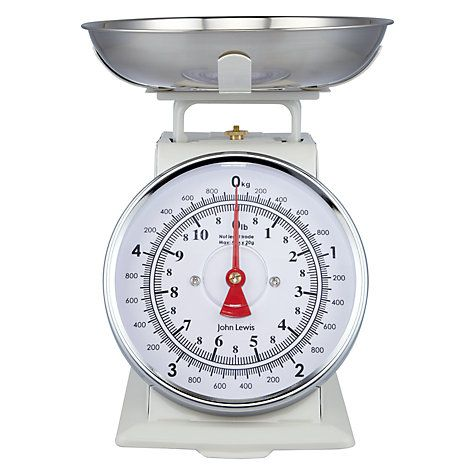 John Lewis Partners Classic Mechanical Kitchen Scale 5kg Kitchen Styling Kitchen Colors Digital Kitchen Scales