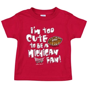 Ohio State Football Fans Red T-Shirt They Only Hate Us Cause They Aint Us