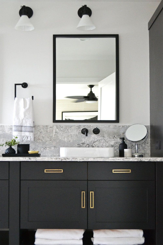 Masterbath6 Jpg Black Vanity Bathroom Bathroom Vanity Designs Black Cabinets Bathroom