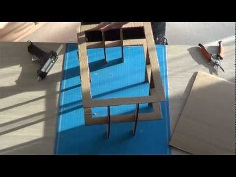 Les outils n cessaires la fabrication de meubles en carton youtube - Fabrication de meubles en carton ...