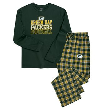 78377d343 Packers Men s Medalist Flannel Pajama Set at the Packers Pro Shop http   www