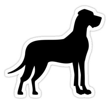 Great Dane Sticker Great Dane Great Dane Puppy Great Dane Dogs