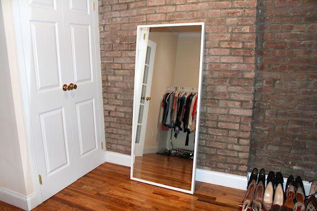 ikea full length mirror Budget Friendly Decor   IKEA