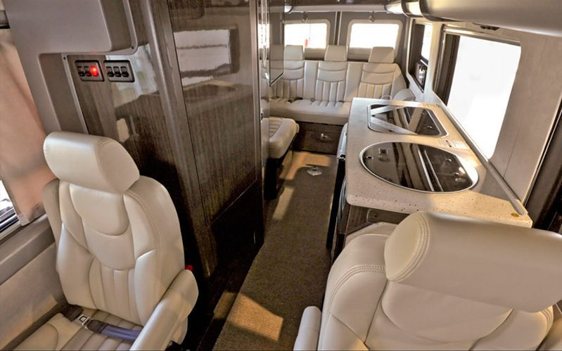 Airstream mercedes benz sprinter interstate 3500 interior for Mercedes benz sprinter airstream
