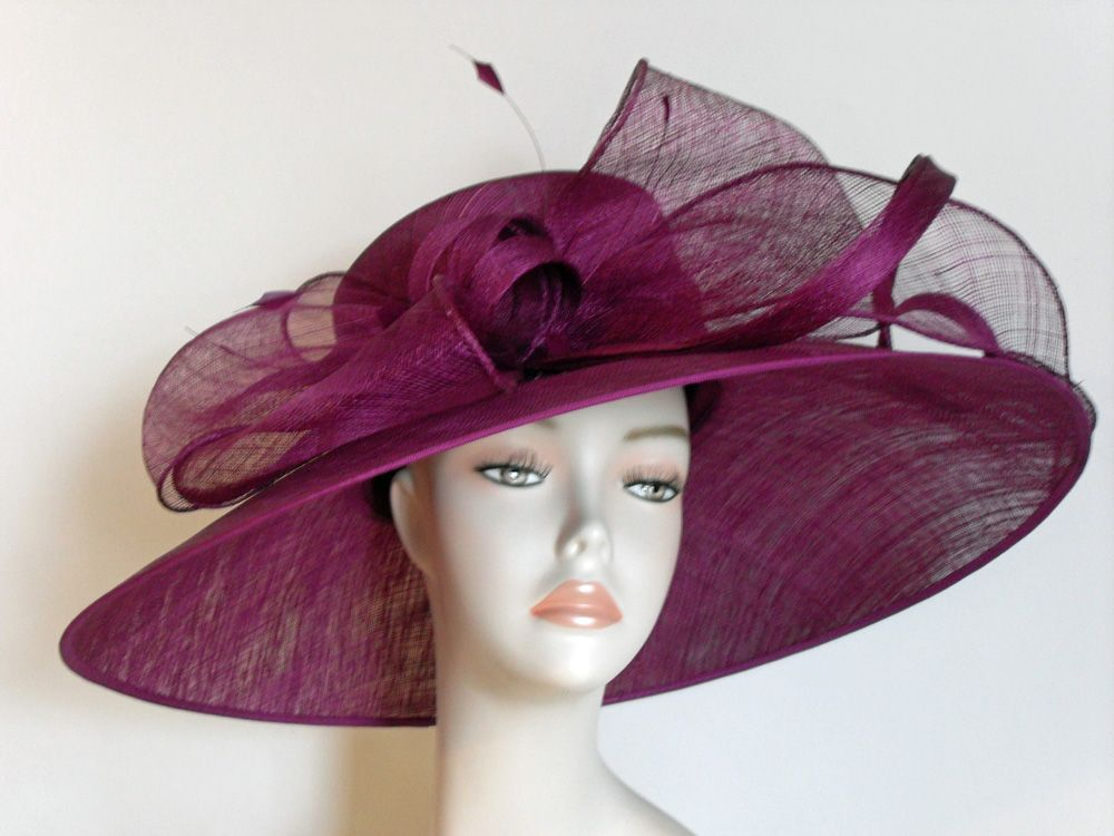 Sophia Ladies Special Occasion Hat | HAT-A-HOLIC | Pinterest | La ...