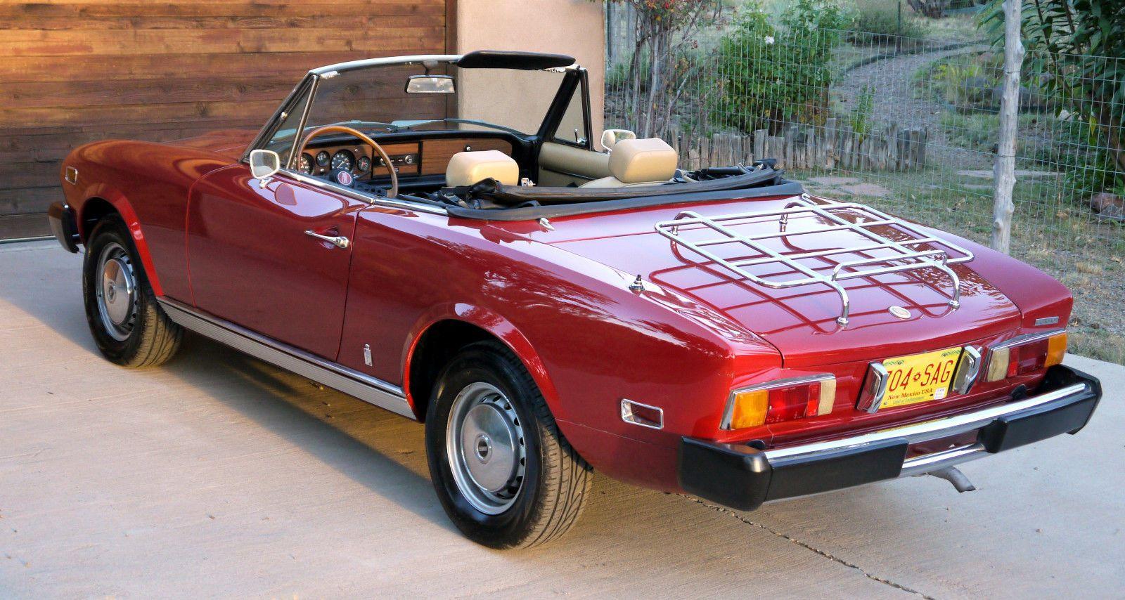 Fiat Other Spider Convertible 2 Door Automobiles Italian
