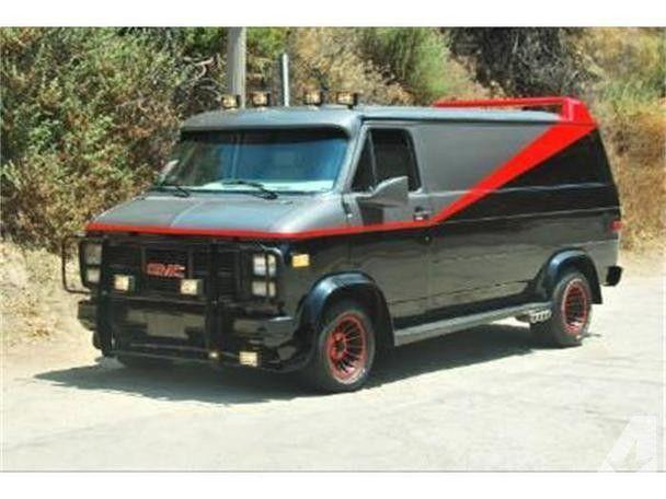 1983 Chevrolet G10 Van | The A Team | A team van, Gmc vans