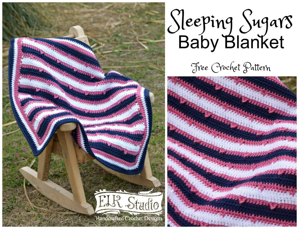 Get ready to have fun making your Sleeping Sugars Baby Blanket for that special baby! It's a quick and easy project that makes a perfect baby shower gift!