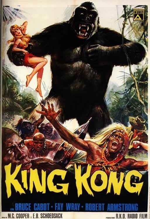 King Kong Colourized Version 1933 Of Special Note Is Willis O