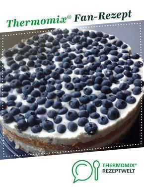 Blaubeer-Joghurt-Torte #vanillayogurt