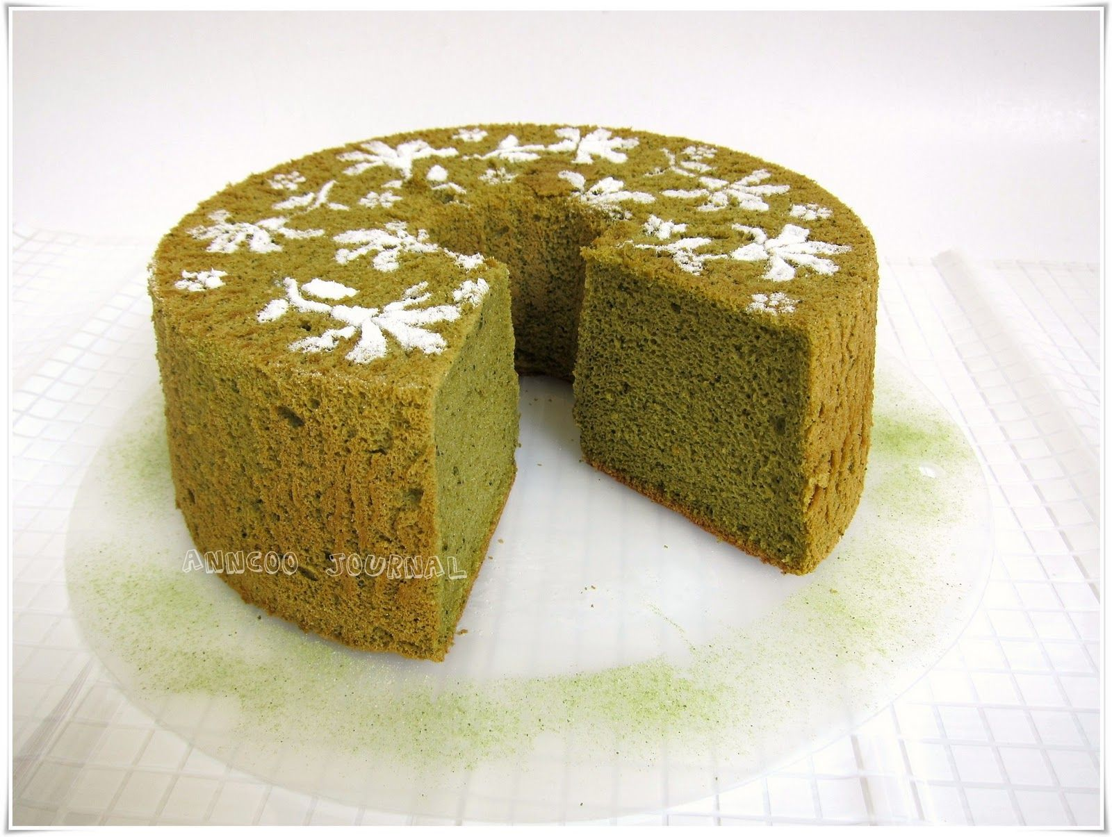 Green Tea Chiffon Cake | Anncoo Journal - Come for Quick and Easy Recipes