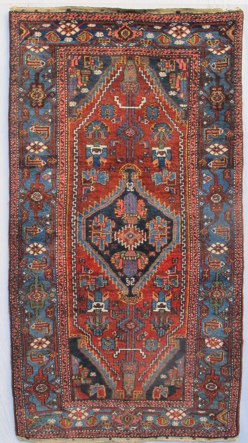 Peter Linden Woven By Village Weavers From The Khamseh District Hamadan Province W Persia C 1910 1925 S Tribal Carpets Antique Textiles Oriental Carpets