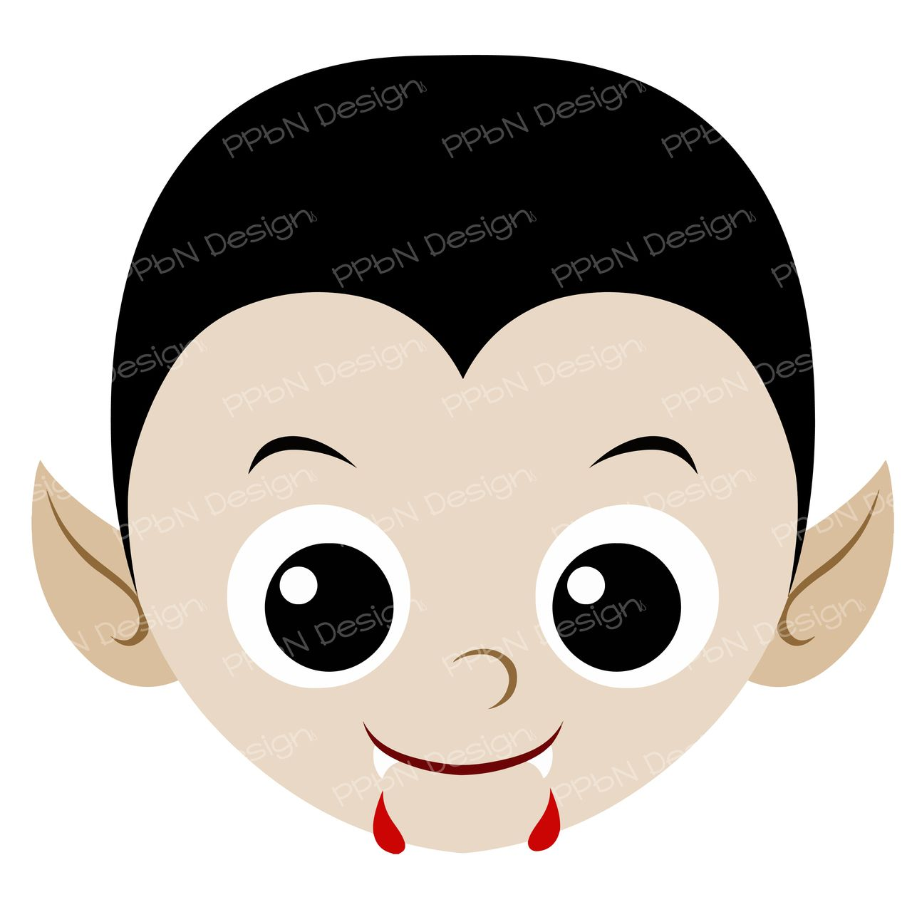 PPbN Designs - Vampire Face (SVG Only), $0.00 (http://www.ppbndesigns.com/products/vampire-face-svg-only.html)