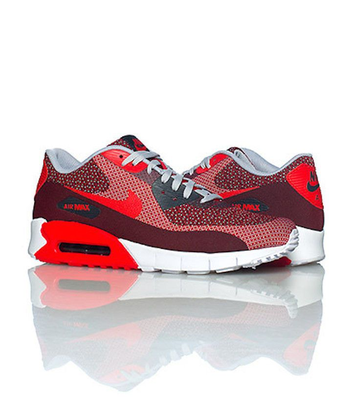 cc34592b563 BRANDE NEW Nike Air Max 90 Jacquard Gym Red Wolf Grey Black SZ 11    631750-601