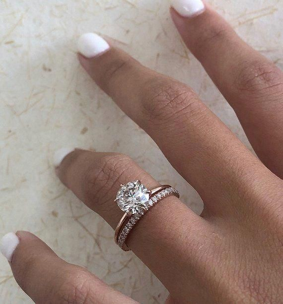 Awesome Proposed Engagement Ring Finger Round Diamond Engagement Rings Wedding Ring Bands Diamond Wedding Bands