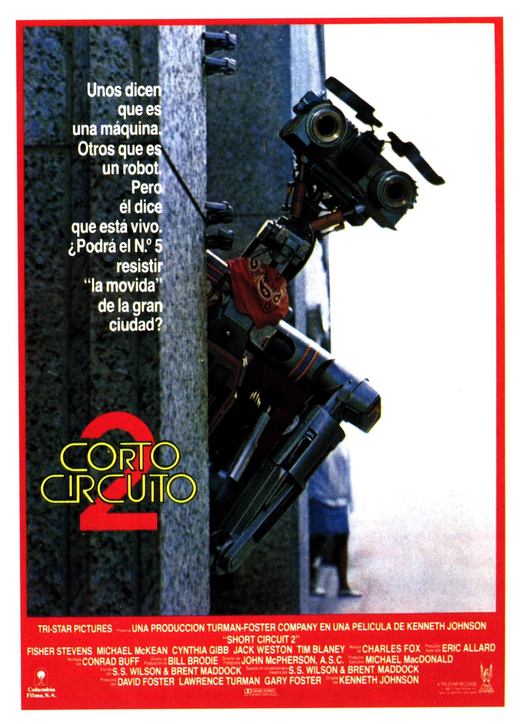 Cortocircuito 2 Momentos Cine Serie Especialidad 80s Shortcircuit2 Short Circuit Hd Movies