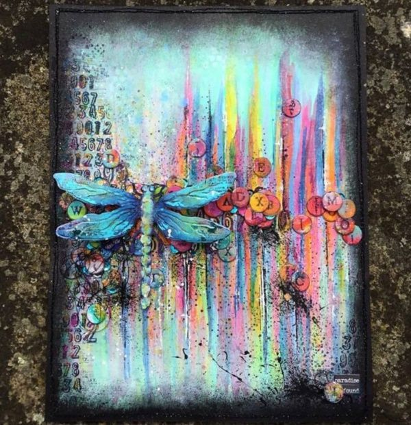 40 Artistic Mixed Media Art and Painting on Canvas #artjournalmixedmediainspiration