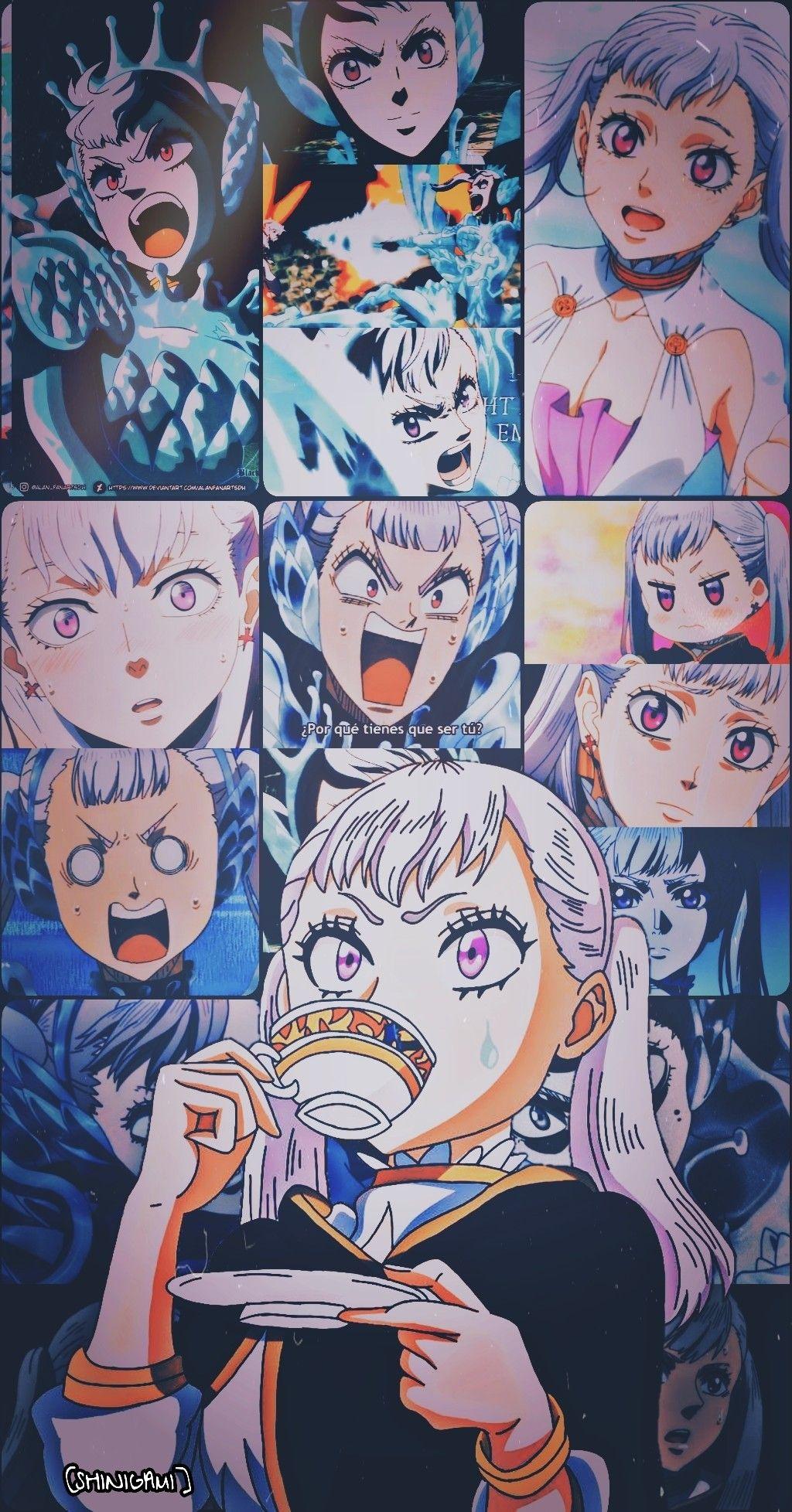 Black Clover Noelle Silva Fondo De Pantalla In 2020 Black Clover Anime Black Clover Manga Anime Wallpaper