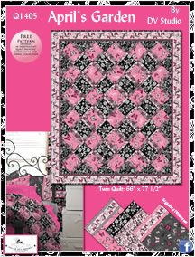 Free Pattern April S Garden From South Sea Imports Free Quilt